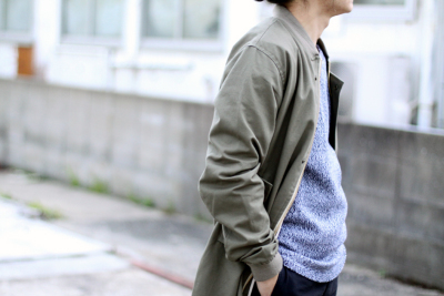 DW Bomber Coat from Sweden made by England