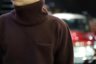 3D knit  Neck warmer [ N.O.UN ]