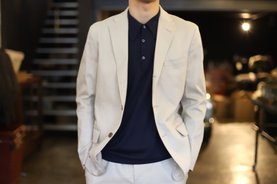 Pique Jacket & slacks [ CANDIDUM ]